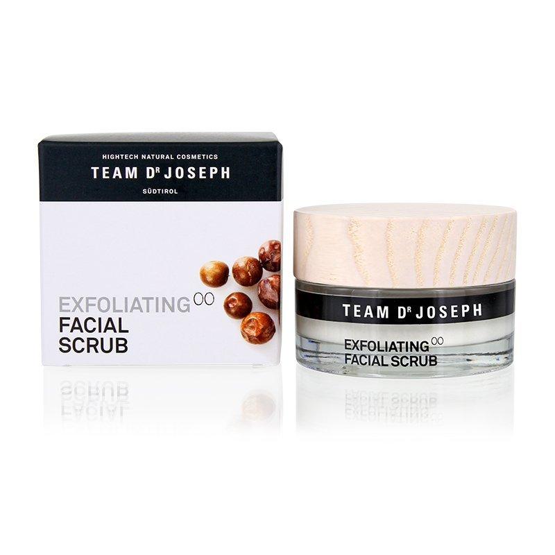 scrub natuurlijk huid vette onzuivere acne puur