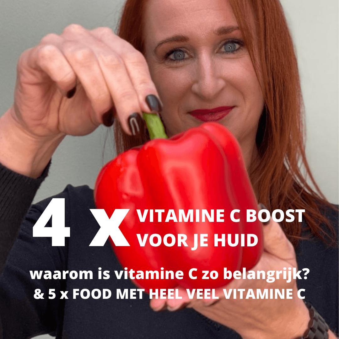vitamine c huid antioxidant puur