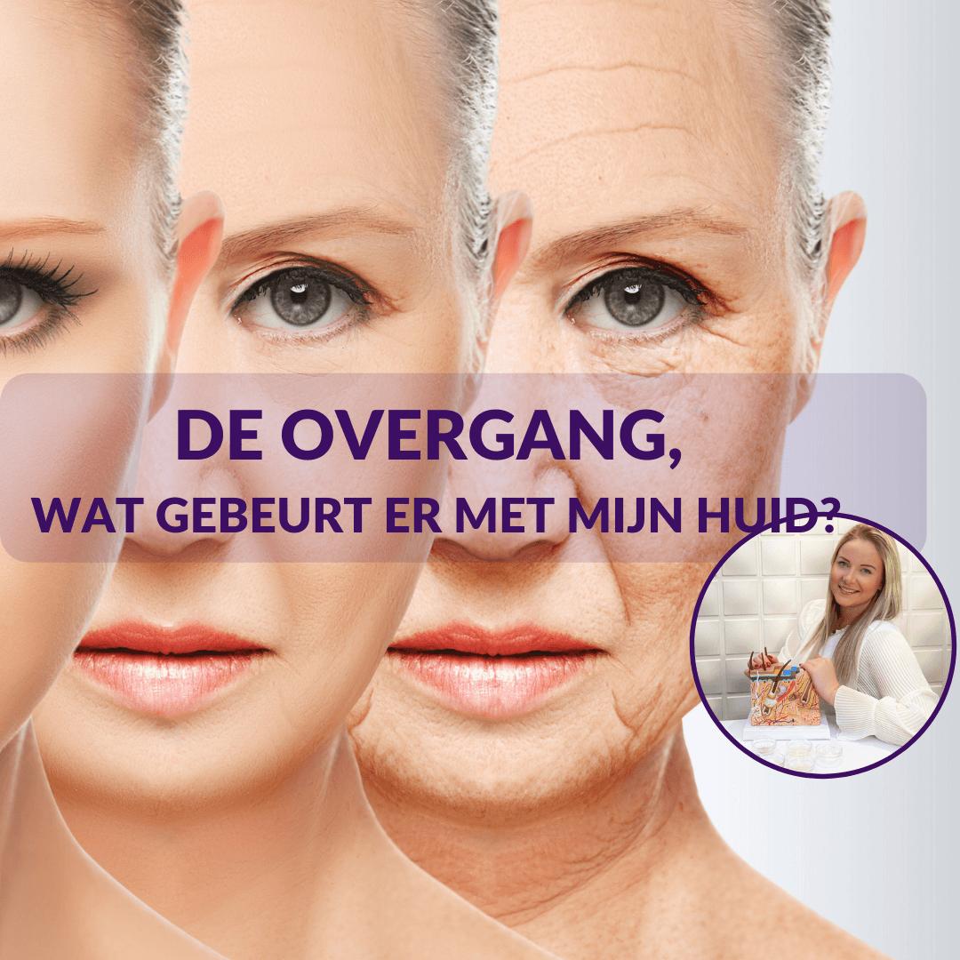 overgang huid puur oestrogeen rimpels