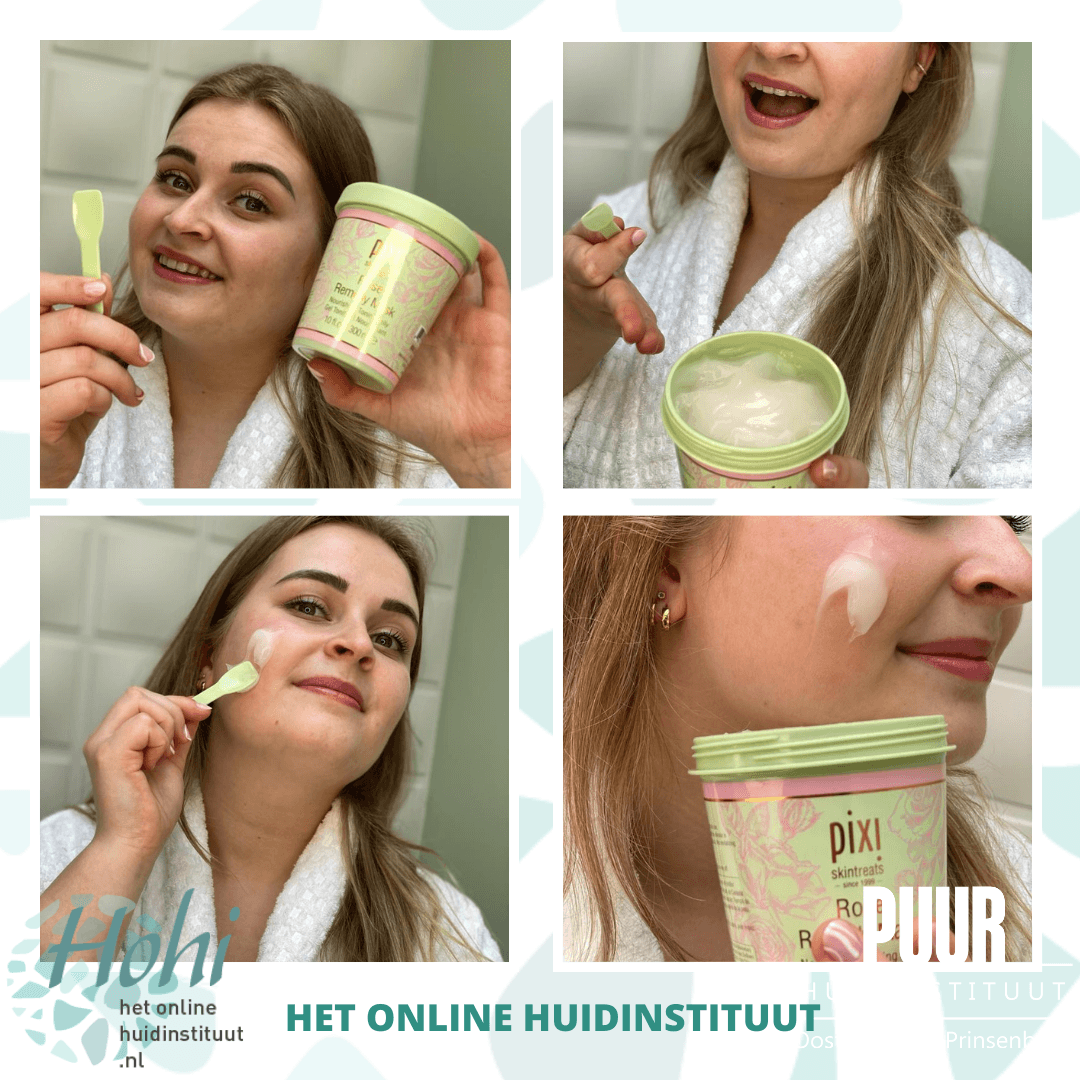 pixi mask remedy rose hohi puur