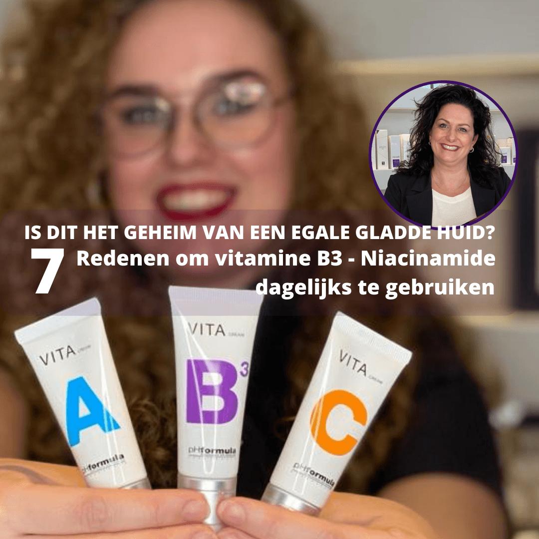 Niacinamide vitamine b3 puur hohi huid